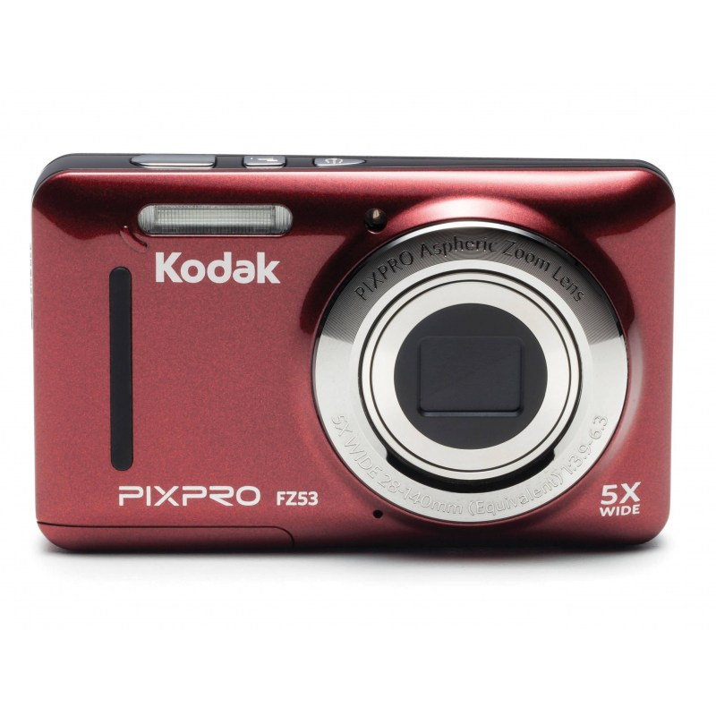 Kodak FRIENDLY ZOOM FZ53 Red
